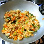 Spicy Vegetable Oats