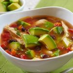 Fresh Tomato and Avacado Soup